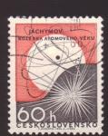 Stamps Czechoslovakia -  energia atomica