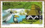 Sellos de America - México -  TURISMO - CHIAPAS Serie 9