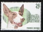 Sellos de Europa - Espa�a -  2713- Perros de raza espa�ola. Podenco ibicenco.