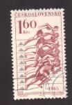 Stamps Czechoslovakia -  eventos culturales