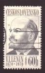 Sellos de Europa - Checoslovaquia -  Lenin