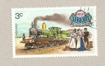Stamps Liberia -  Locomora holandesa