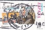 Stamps Spain -  Escenas del Quijote- EN UN LUGAR DE LA MANCHA   (H)