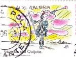 Sellos de Europa - España -  Escenas del Quijote-LA DEL ALBA SERIA     (H)
