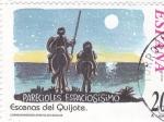 Stamps Spain -  Escenas del Quijote- PARECIOLES ESPACIOSÍSIMO    (H)