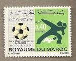 Stamps Morocco -  Juegos Mediterraneos