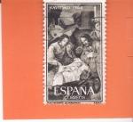 Sellos de Europa - España -  NAVIDAD- 1964- Nacimiento (Zurbarán)    (H)