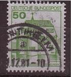 Sellos de Europa - Alemania -  edificio tipico