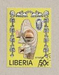 Stamps Liberia -  Festival de Arte Africano