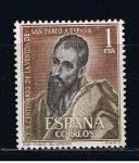 Sellos de Europa - España -  Edifil  1493  XIX cente. de la venida de San Pablo a España.