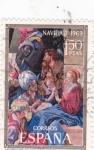 Sellos de Europa - España -  NAVIDAD- 1969- Adoración de los Reyes (Mayno)     (H)