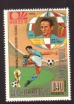 Sellos de Africa - Guinea Ecuatorial -  homenaje a los jugadores celebres