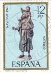 Stamps Spain -  NAVIDAD- 1976- Figura de Nacimiento    (H)