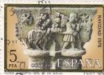 Sellos de Europa - España -  NAVIDAD- 1978-Huída de Egipto    (H)