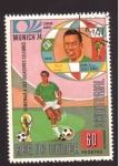 Stamps Equatorial Guinea -  homenaje a los jugadores celebres