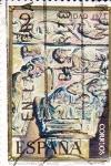Sellos de Europa - España -  NAVIDAD- 1973-Nacimiento, Capitel del Monasterio de Silos (Burgos)    (H)