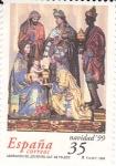 Sellos de Europa - España -  NAVIDAD- 1999- Adoración de los reyes Cat. de Toledo   (H)