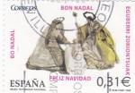 Stamps Spain -  NAVIDAD- 2008 - Belén Patrimonio Nacional   (H)