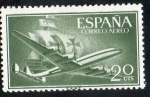 Sellos de Europa - España -  1169- Superconstellatión y nao