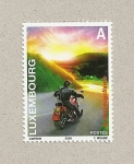 Stamps Luxembourg -  Motociclismo