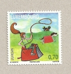 Stamps Luxembourg -  Cuentos infantiles
