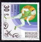 Sellos del Mundo : Asia : Mongolia : Esgrima