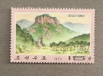 Stamps Asia - North Korea -  Paisajes