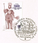 Stamps Spain -  CENTENARIO, PERSONAJES