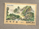Stamps Asia - North Korea -  Paisajes
