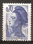 Sellos de Europa - Francia -  Liberty (Libertad de guiar al pueblo de Delacroix).