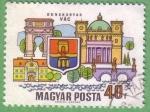 Stamps Hungary -  Dunakanyar