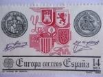 Stamps Spain -  Europa-CEPT-:  La Unidad de España.  Ed:2657 ) XXIII Serie