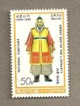 Stamps Asia - North Korea -  Trajes nacionales