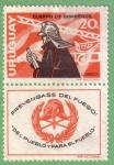 Stamps : America : Uruguay :  Cuerpo de bomberos
