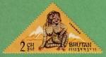 Stamps : Asia : Bhutan :  Snowman