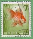 Stamps : Asia : Japan :  Pez Dorado