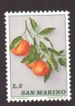 Stamps of the world : San Marino :  mandarinas
