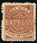 Sellos del Mundo : Oceania : Samoa_Occidental : SAMOA EXPRESS