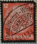 Sellos del Mundo : Europa : Alemania :  von hindenburg 1933 reich