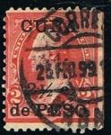 sellos de America - Cuba -  WASHINGTON EN SELLO CUBANO
