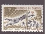 Stamps Africa - Benin -  Juegos deportivos de Dakar