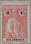 Stamps Mozambique -  republica portuguesa 1914