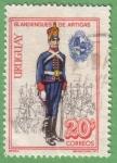 Stamps : America : Uruguay :  Blandengues de Artigas