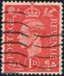 Sellos de Europa - Reino Unido -  JORGE VI 1937-47. FONDO CLARO. Y&T Nº 210A