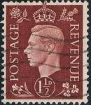 Sellos de Europa - Reino Unido -  JORGE VI 1937-47. Y&T Nº 211