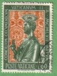 Stamps : Europe : Vatican_City :  Concilio Ecuménico  Vaticano II