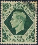 Sellos de Europa - Reino Unido -  JORGE VI 1937-47. Y&T Nº 220