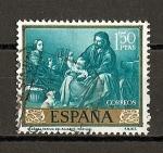 Stamps Spain -  B.E.Murillo.