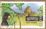 Stamps Mexico -  TURISMO - YUCATAN Serie 13