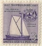 Stamps : America : United_States :  THE VIRGINIA OF SAGADAHOCK
